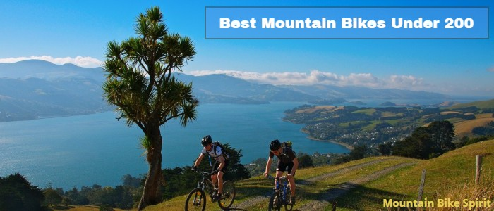 Best Mountain Bikes Under 200