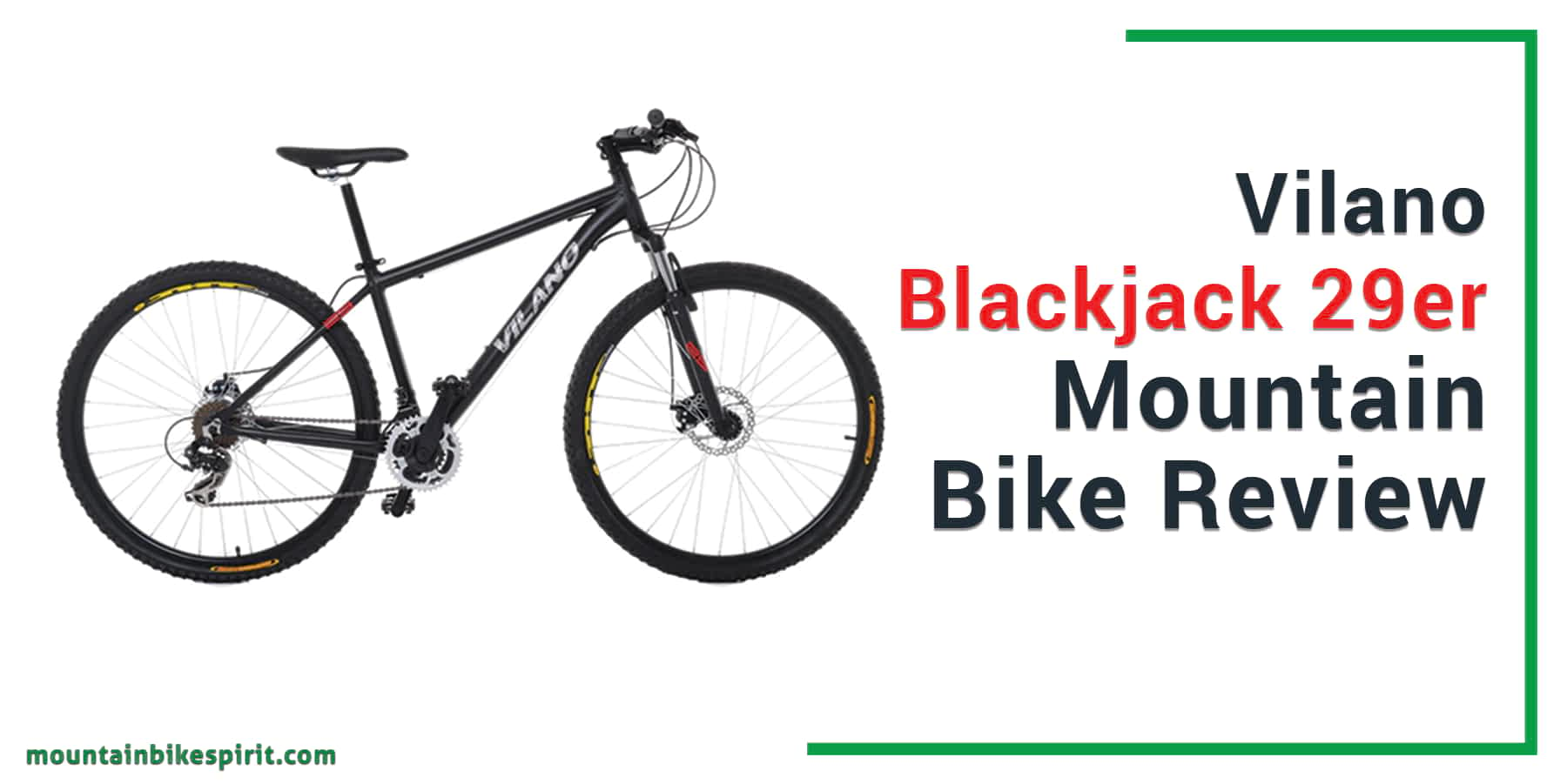 Vilano Blackjack 29er-Mountain Bike-Review