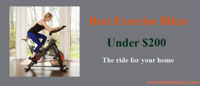 Best Exercise Bikes Under 200