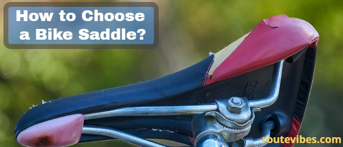 how to choose a bike saddle