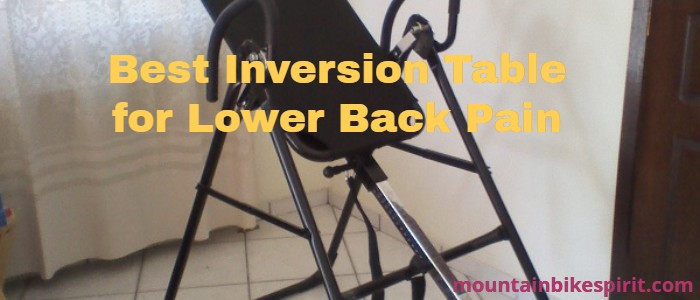 best inversion table for lower back pain