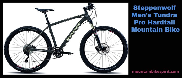 Steppenwolf Mens Tundra Pro Hardtail Mountain Bike